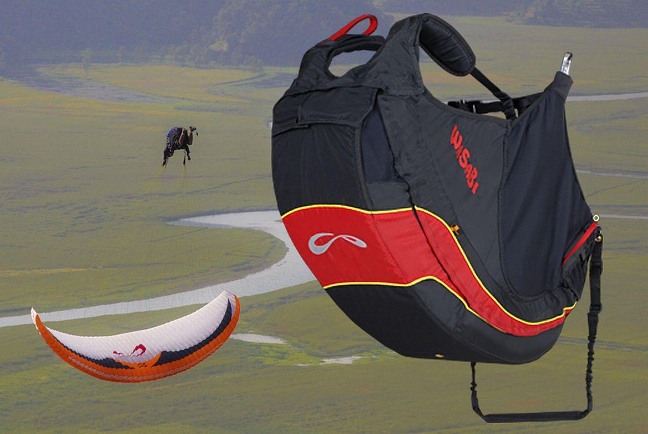 Central Coast Paragliding  Wasabi  Central Coast Paragliding # Wasbak Geur_200851